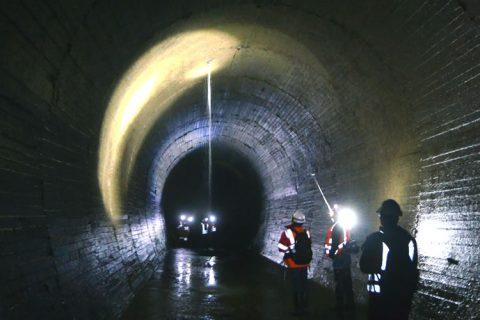 Inspección de túnel principal (aducción)
