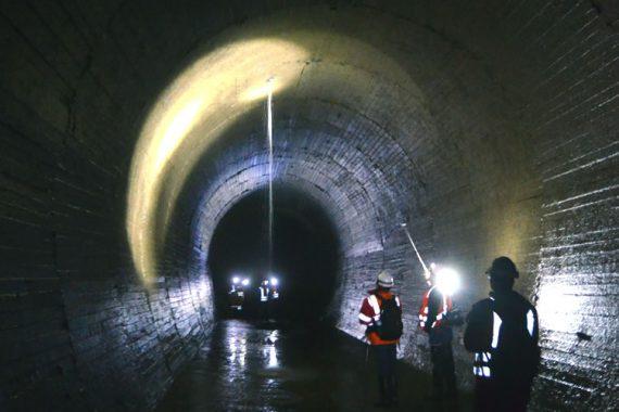 Inspección de túnel