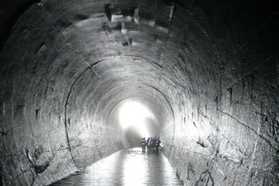 Inspección de túnel Duke Energy