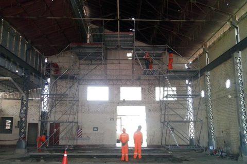 Desmontaje y retiro de equipamiento según plan de abandono de las centrales térmicas de Paita y Sullana