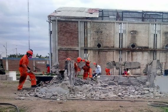 Plan de abandono de edificación