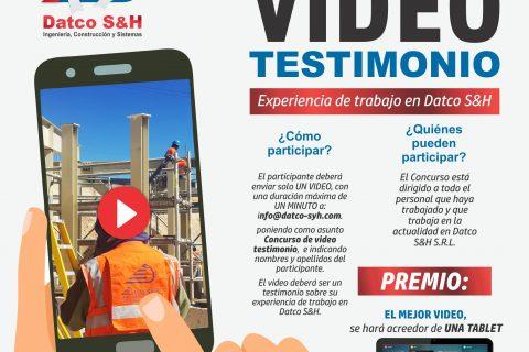 DATCO S&H ORGANIZA CONCURSO DE VíDEO Y FOTOGRAFÍA